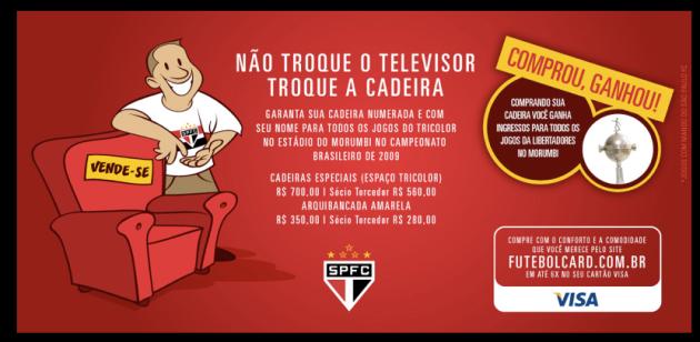 Pacote Brasileirão SPFC